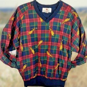 Thomas Wilson Mens Large Golf Jacket Pullover